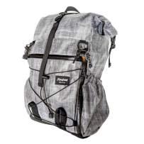 Flowfold Uhuru 25L Hiking Pack - Ultra Lightweight Technical Daypack - Weather Resistant - Vegan - Made in USA