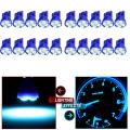cciyu 194 Extremely Bright LED Bulbs T10 4-3528-SMD Interior Lights Dashboard Gauge Light Speedometer Odometer Tachometer LED light Instrument Panel Light Wedge T10 168 2825 W5W Ice Blue Pack of 20