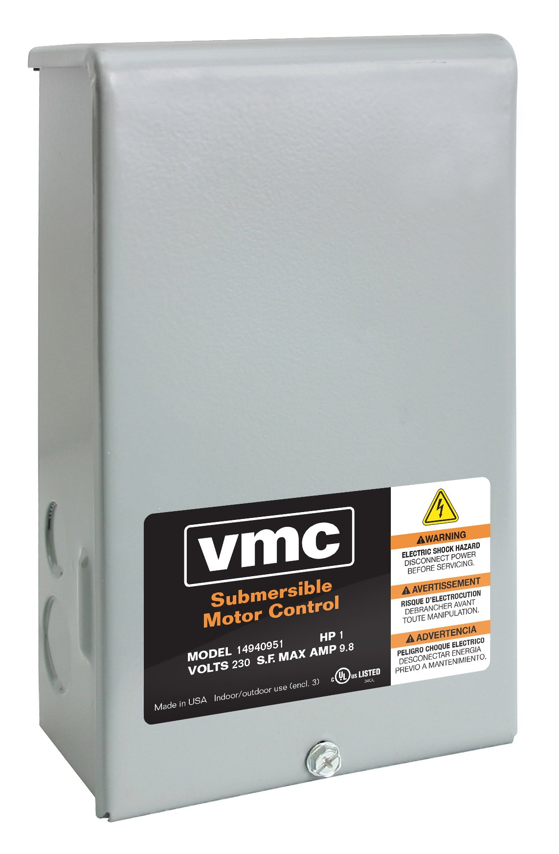 Red Lion RLCB07-230 3/4-HP 230-Volt VMC Well Pump Control Box