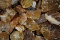Fantasia Materials: 3 lbs AAA Grade Honey Calcite Rough Stones from Mexico