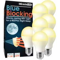 MiracleLED 604665 Blue 6-Pack UV Blocking Light, 60W Replacement