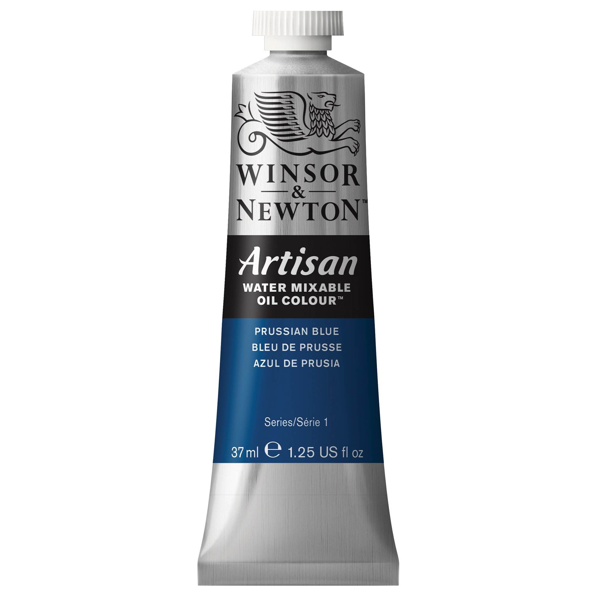 Winsor & Newton Artisan Water Mixable Oil Colour, 37-ml Tube, Prussian Blue