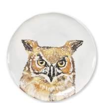 Vietri Into The Woods Owl Salad Plate