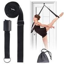 Adjustable Leg Stretcher, Door Flexibility Stretching Leg Strap,Great for Ballet Cheer Dance Gymnastics or Any Sport Leg Stretcher Door Flexibility Trainer Premium Stretching Equipment-JOYHILL