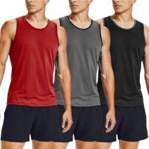 COOFANDY Men's Workout Tank Tops 3 Pack Gym Shirts Muscle Tee Bodybuilding Fitness Sleeveless T Shirts