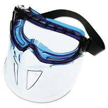 Jackson Safety V90 Shield Clear Anti Fog Lens Protection Goggle with Blue Frame(Limited edition)