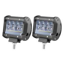 LED Pods, OFFROADTOWN 4inch 138W LED Work Light Off Road Driving Lights OSRAM LED Cubes Spot Flood Combo Beam Fog Light bar for Truck Jeep ATV UTV SUV Boat