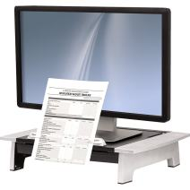 Fellowes Office Suites Standard Monitor Riser Plus (8036601), Black