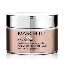 Marcelle Revival+ Skin Renewal Anti-Aging Day Cream - Dry Skin, Hypoallergenic and Fragrance-Free, 1.7 fl oz