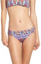Trina Turk Women's Side Tab Hipster Bikini Swimsuit Bottom