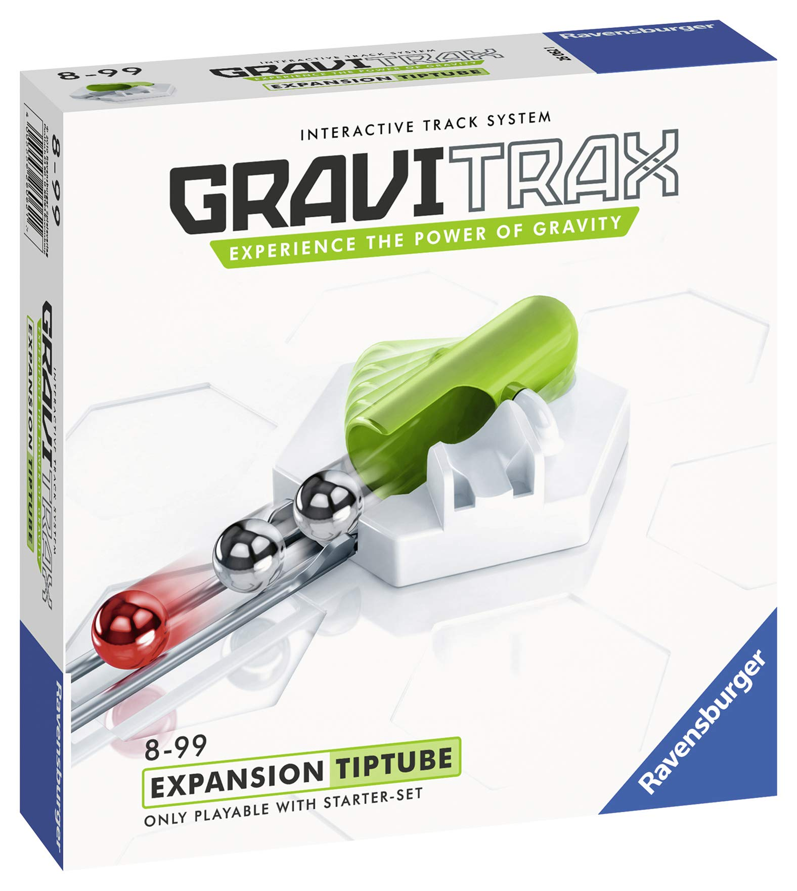 Ravensburger Gravitrax Volcano Accessory - Marble Run & STEM Toy for Boys & Girls Age 8 & Up - Accessory for 2019 Toy of The Year Finalist Gravitrax