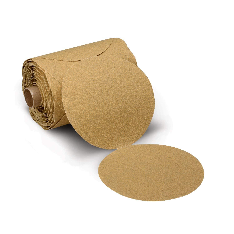 3M Stikit Paper Disc Roll 236U, P100 C-weight, 6 in x NH, Die 600Z