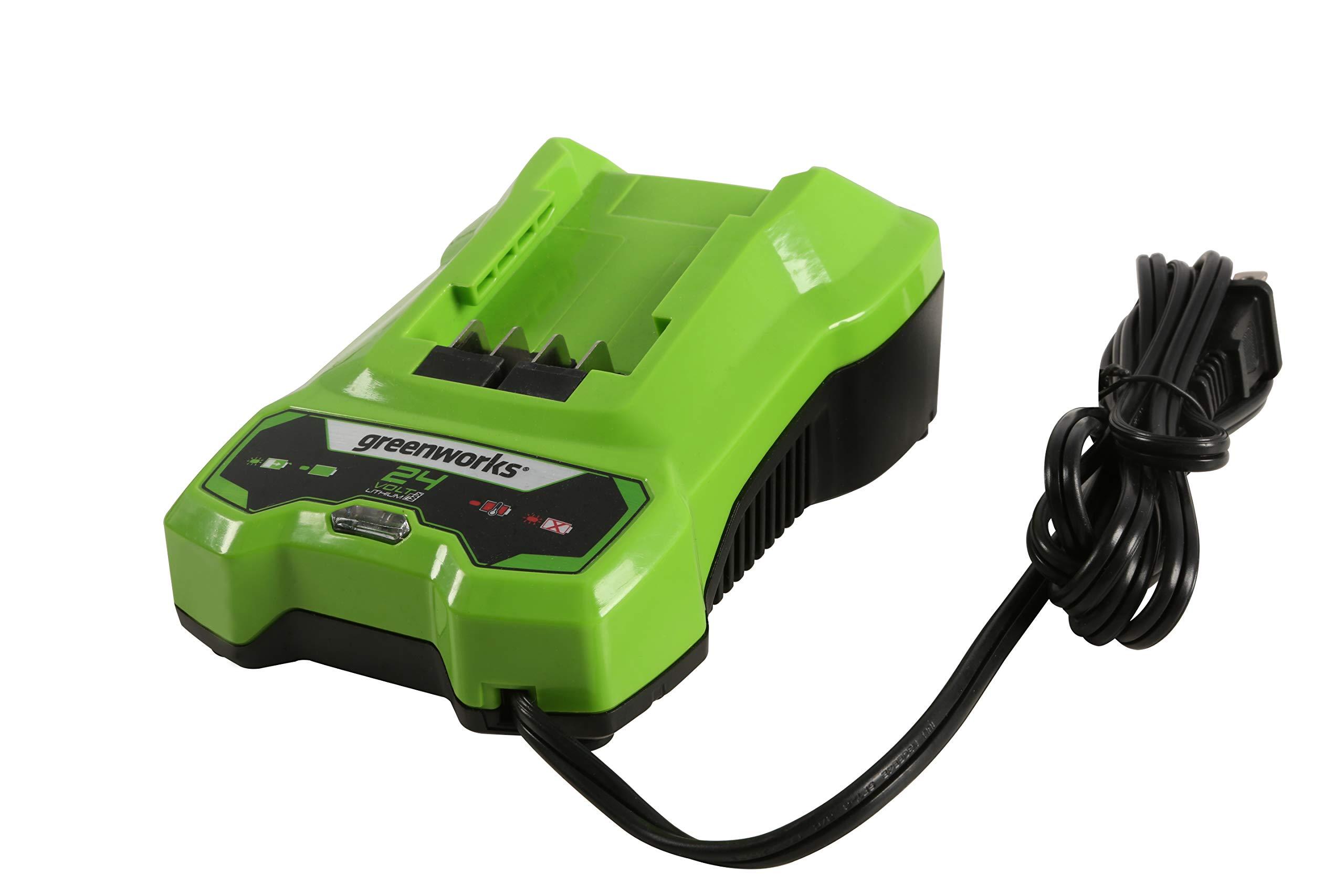 Greenworks 24V Battery Charger, CAF806