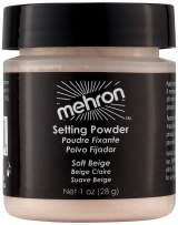 Mehron Makeup Setting Powder (1 oz) (Soft Beige)