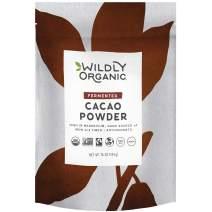 Wildly Organic Fermented Cacao Powder - Organic Chocolate - Organic Raw Cacao Powder Organic - Cacao Powder Organic Raw - Unprocessed Cacao Powder - Fermented Cacao Powder - Fair Trade Cacao - 1 Lbs