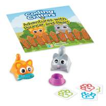 Learning Resources Coding Critters Pair-A-Pets Cats Pouncer & Pearl, Early STEM Coding Toy, Interactive Pet, Ages 4+