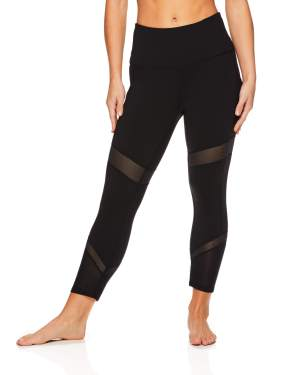 Performance Compression Workout Leggings Athletic Gym Tights Gaiam Womens High Rise Waist Yoga Pants
