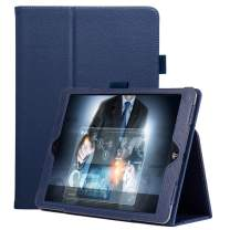 FANSONG New iPad 10.2 2019 Case, iPad Flip Leather Protective Cases with [Pen Holder] Stand [Auto Sleep/Wake up] Smart Cover for iPad 7th Generation 2019 Case, Navy