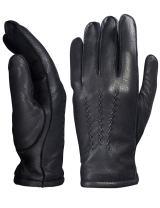YISEVEN Men's Deerskin Leather Warm Fleece Lined Dress Classical Luxury Gloves