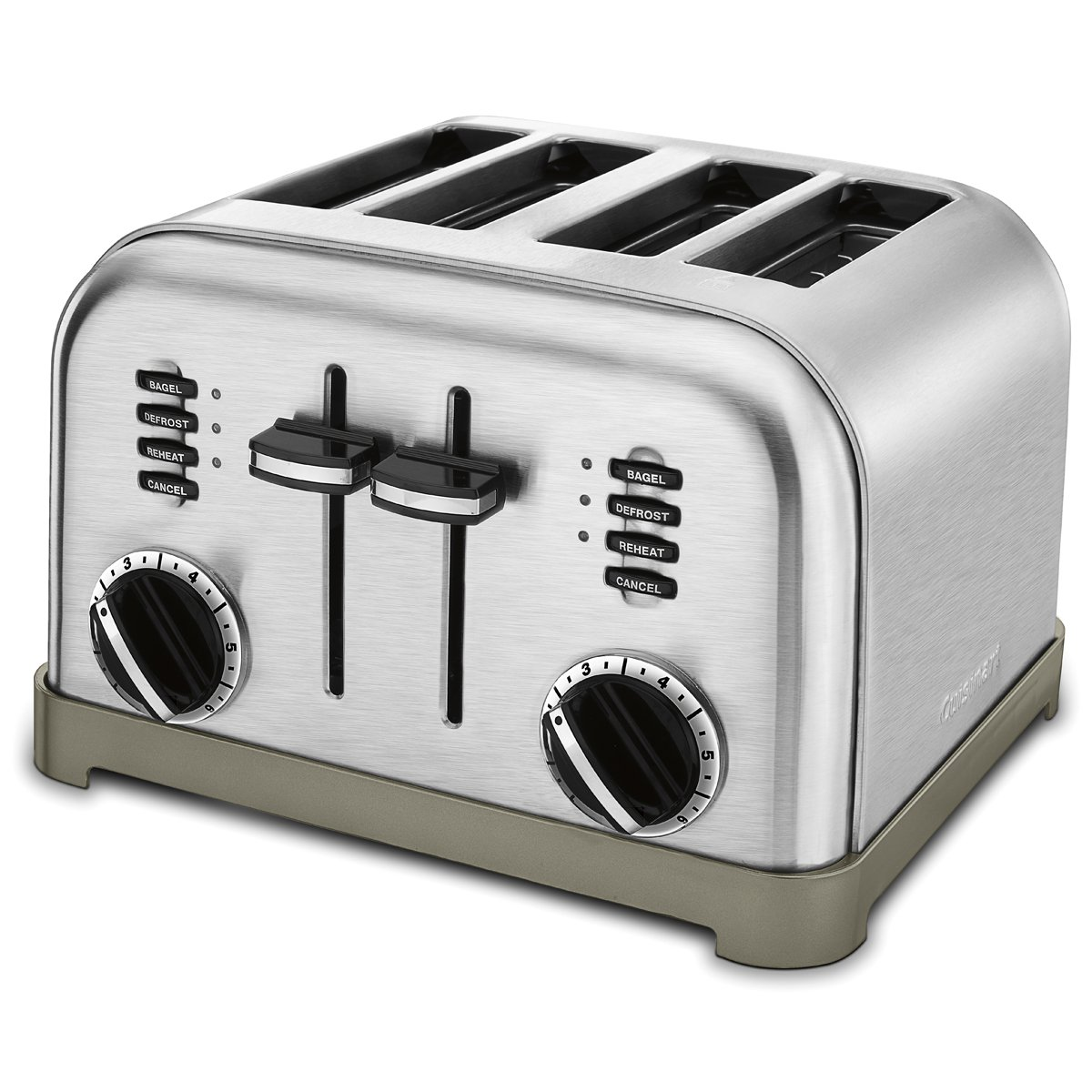 Cuisinart CPT-180P1 Metal Classic 4-Slice toaster, Brushed Stainless
