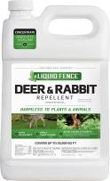 Liquid Fence 111 Deer and Rabbit Repellent, 1-Gallon Concentrate