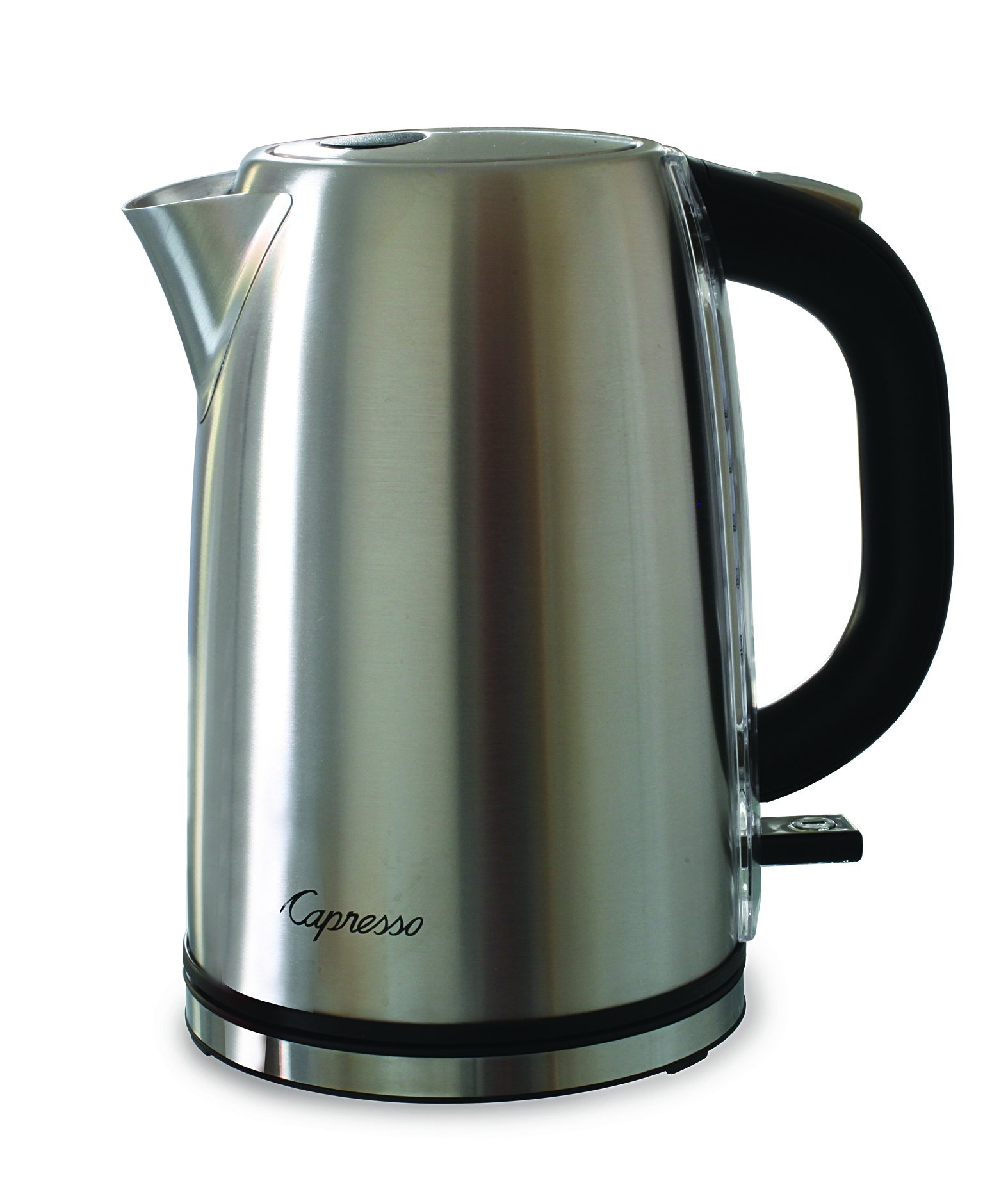 Capresso H2O Steel Water Kettle, Silver