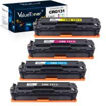 Valuetoner Remanufactured Toner Cartridge Replacement for Canon 131 131H to Use with ImageClass LBP7110Cw MF624Cw MF628Cw MF8280Cw Printer (1 Black, 1 Cyan, 1 Magenta, 1 Yellow) 4 Pack