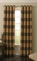 "BEAUTYREST 52"" x 84"" Insulated Darkening Single Panel Grommet Top Window Treatment Living Room, Chocolate"