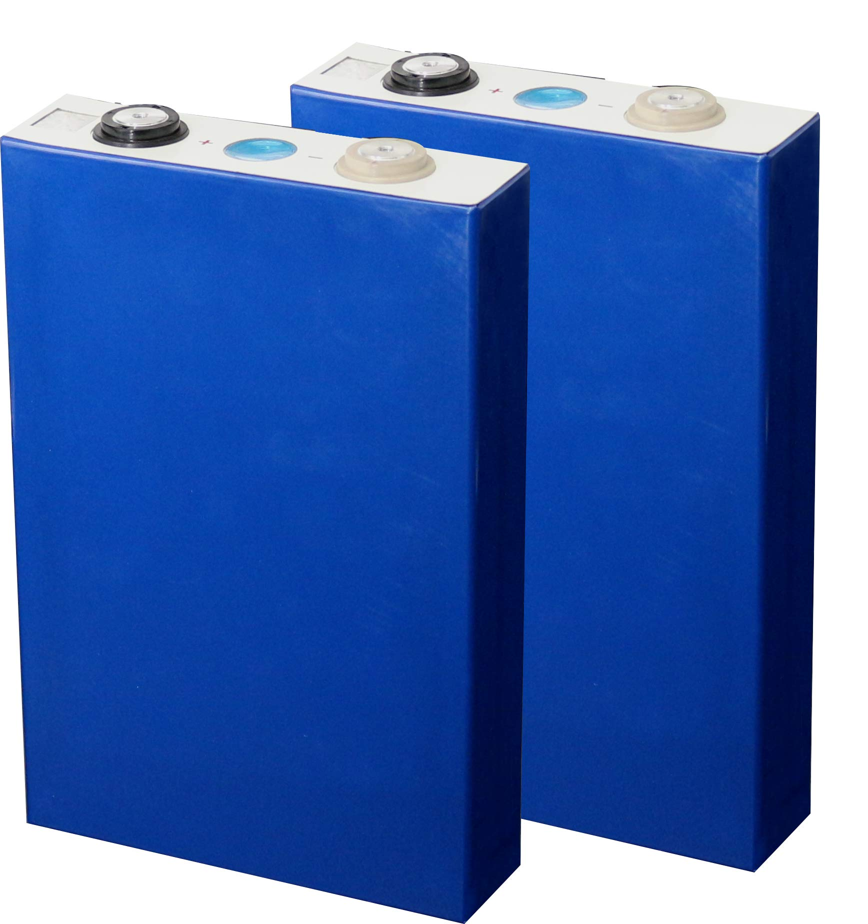 2x Cells Eastup Lithium Iron Phosphate (LiFePo4) Battery Cells 3.2V-105AH 336Wh 10 Years Lifetime.