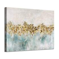 """Abstract Canvas Wall Art Pictures: Dancing Stars Artwork Painting for Living Rooms (36"""" x 24"""" x 1 Panel)"""