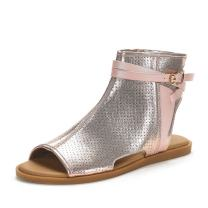 DREAM PAIRS Women's Ruule Fashion Open Toe Flat Sandals