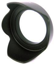Zeikos ZE-HLH55 55mm Hard Lens Hood - Black