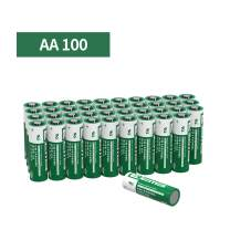 EEMB 3V AA Lithium Battery 1800 mAh CR 14505 BL Primary Lithium Battery Mno2 Cylindrical Cell UL Certified Battery (Non Rechargeable) (100 PCS)