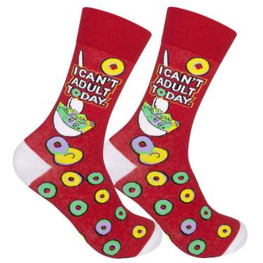 Socks FUN ~ Out of Service~  Crew Length ~ Birthday Gag Gift Mom Sister Dad Sock