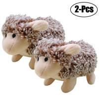 Legendog Dog Toys Plush, Dog Chew Toys Squeaky Stuffed Dog Toy Sheep (2Pcs Sheep Toys)