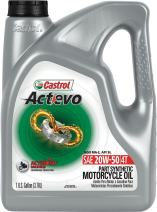 Castrol 03139 Actevo 20W-50 Part Synthetic 4T Motorcycle Oil - 1 Gallon Jug, (Pack of 3)