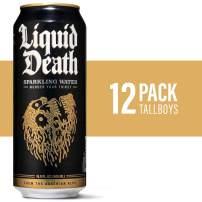 Liquid Death Sparkling Water, 16.9 oz. Tallboys (12-Pack)