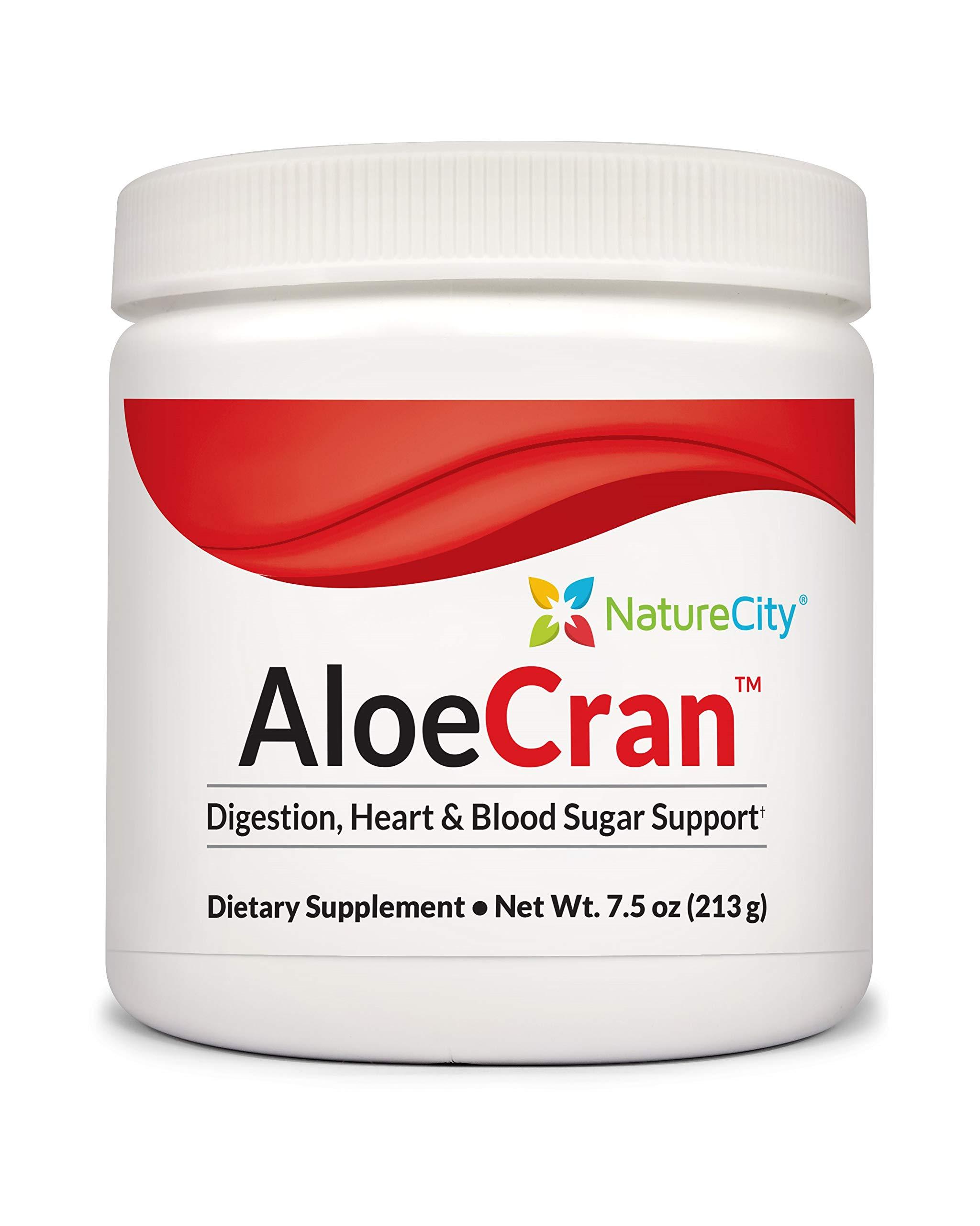 Aloe-Cran Sugar Free Cranberry Drink Mix Powder - Aloe Drink Zero Sugar