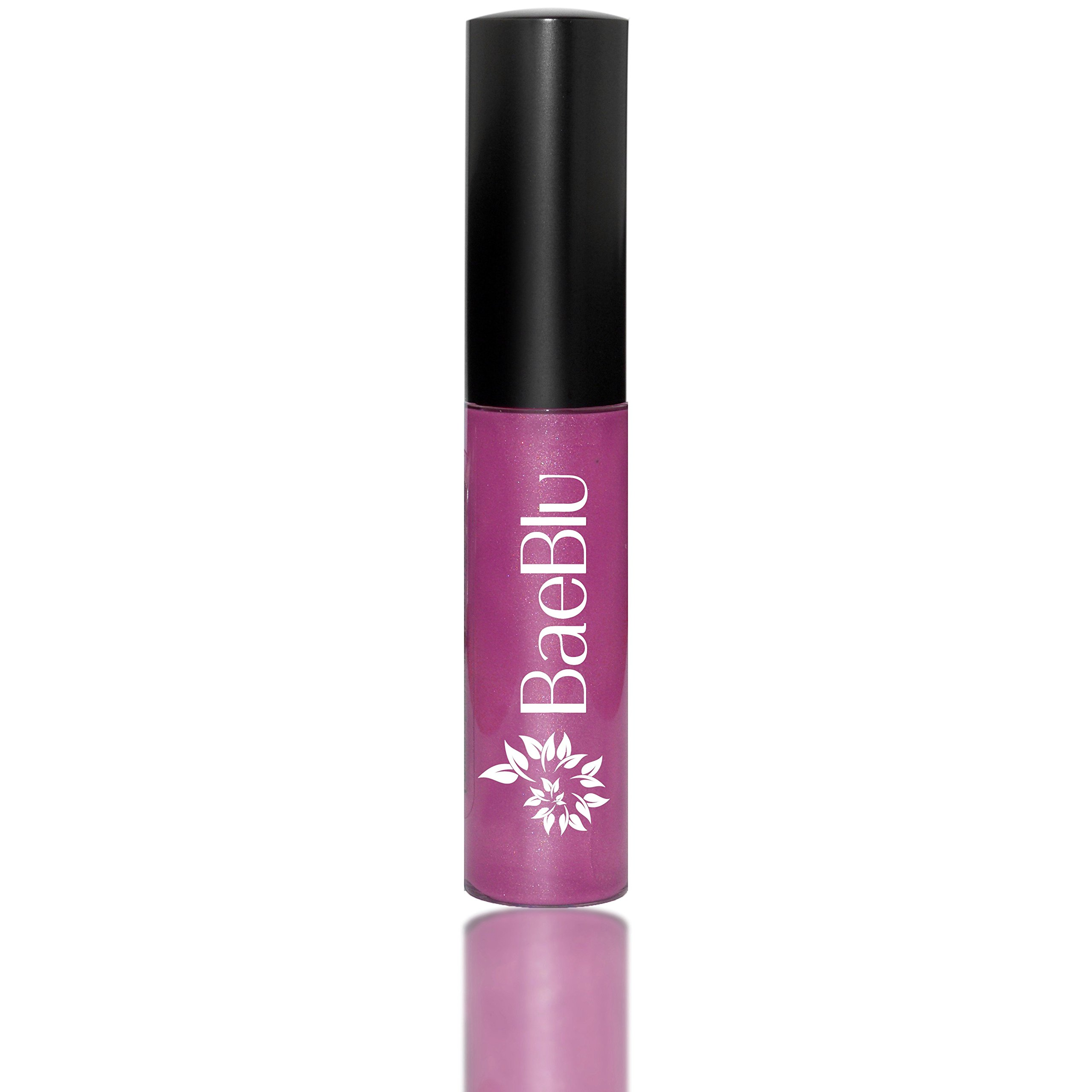 BaeBlu Organic Vegan Lip Gloss, 100% Natural Non-Toxic Moisturizing Ingredients, Wild Orchid