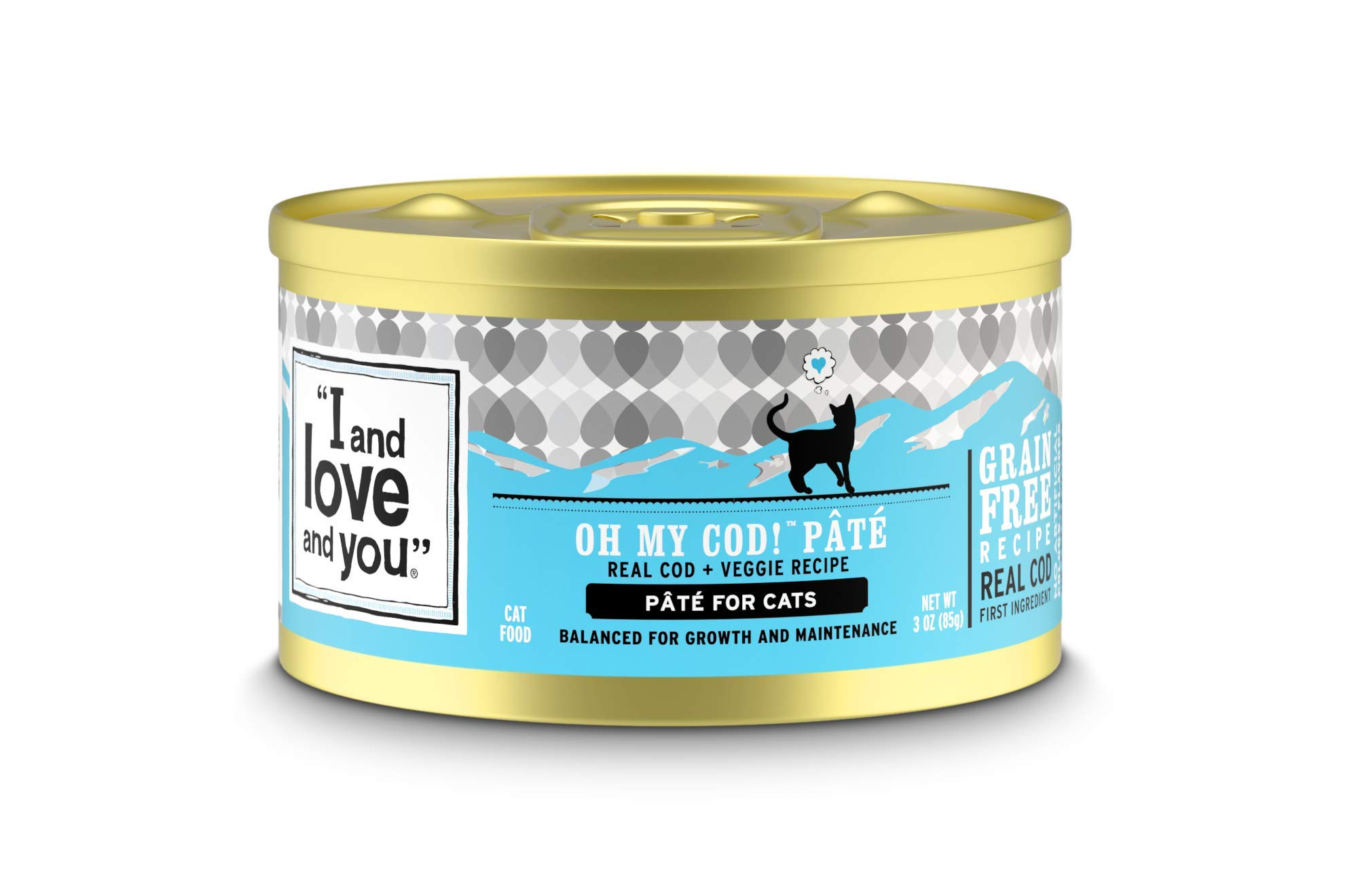 """I and love and you"" Naked Essentials Canned Wet Cat Food - Grain Free, Canned (Variety of Flavors)"