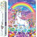 Dylan's Cabin DIY 5D Diamond Painting Kits for Adults,Full Drill Embroidery Paint with Diamond for Home Wall Decor(unicorn/12x16inch)