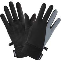 EastKing Winter Gloves for Men Women,Touch Screen Windproof Cold Weather Warm Gloves for Running Cycling Biking Hiking