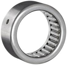 """Koyo B-1412-OH Needle Roller Bearing, Full Complement Drawn Cup, Open, Oil Hole, Inch, 7/8"""" ID, 1-1/8"""" OD, 3/4"""" Width"""