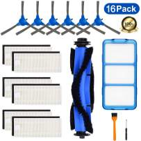 SupKing 16 Pack Replacement Parts Compatible with Eufy RoboVac 11S, RoboVac 30C, RoboVac 15C, RoboVac 30, RoboVac 35C, RoboVac 12