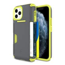 PATCHWORKS iPhone 11 Pro Case [Level Wallet Series] Rugged Hybrid Shockproof Dual Layer TPU + PC Case [Military Grade Drop Test Certified] [Wireless Charging Compatible], Volt