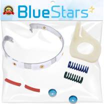 [6 Pads] Ultra Durable 285790 Washer Clutch Lining Kit Replacement part by Blue Stars - Exact Fit for Whirlpool Kenmore Maytag Washers - Replaces 285332 3354732 AP3094538 PS334642