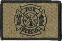 Fire Rescue Tactical Patches