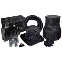 HALF OFF PONDS Savio Pond Free 6100 Waterfall Kit with MatrixBlox, 15' x 30' EPDM Liner and 6,100 GPH Pump - PLSB0