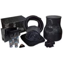 HALF OFF PONDS Savio Pond Free 6100 Waterfall Kit with MatrixBlox, 15' x 30' EPDM Liner and 6,100 GPH Pump - PLSB0
