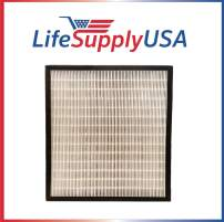 LifeSupplyUSA 5 Pack Replacement HEPA Compatible with Alen FF50 HEPA-Pure Filter and BreatheSmart FIT50 Air Purifier FIT 50
